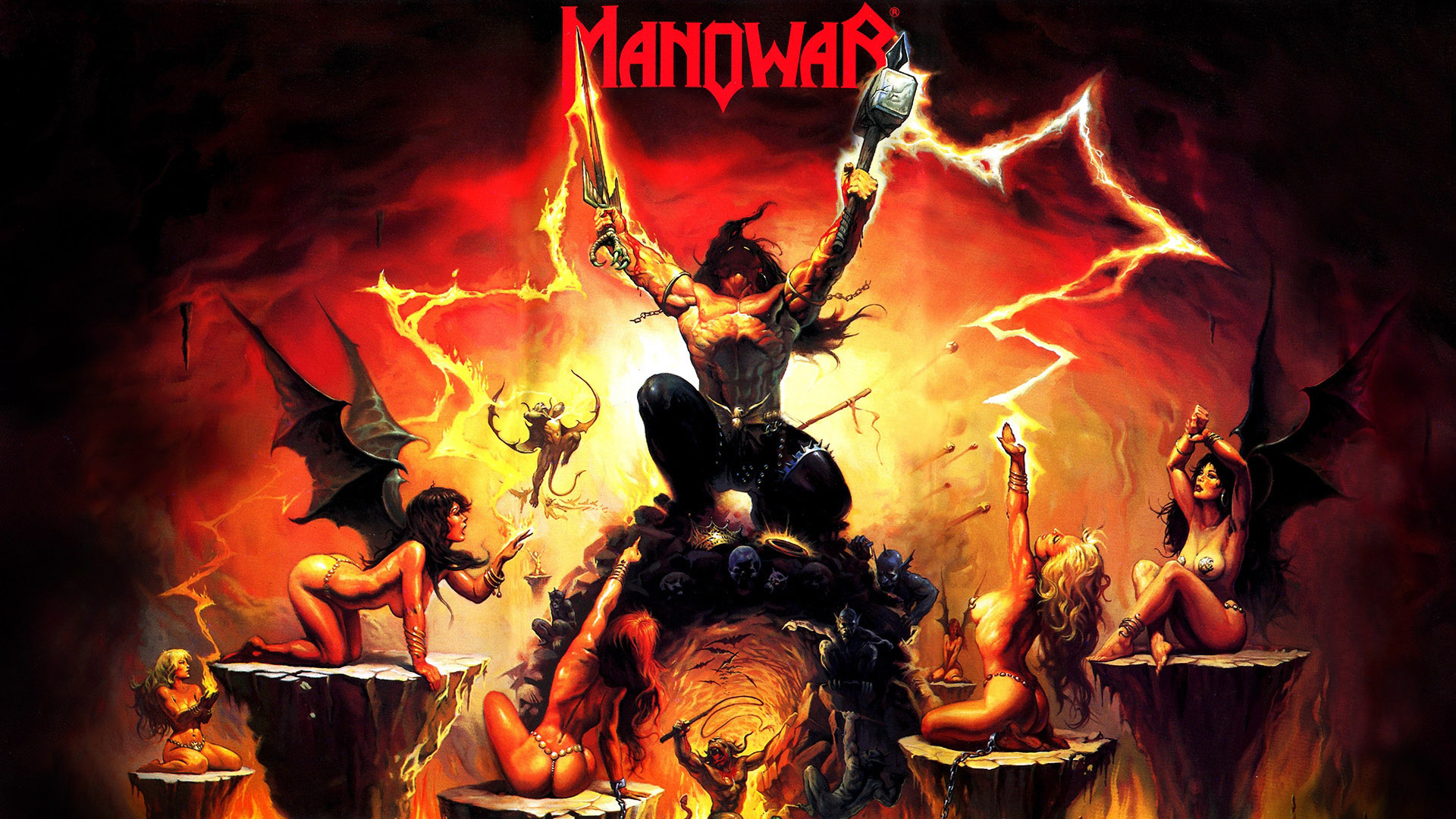 Manowar - The Triumph of Steel